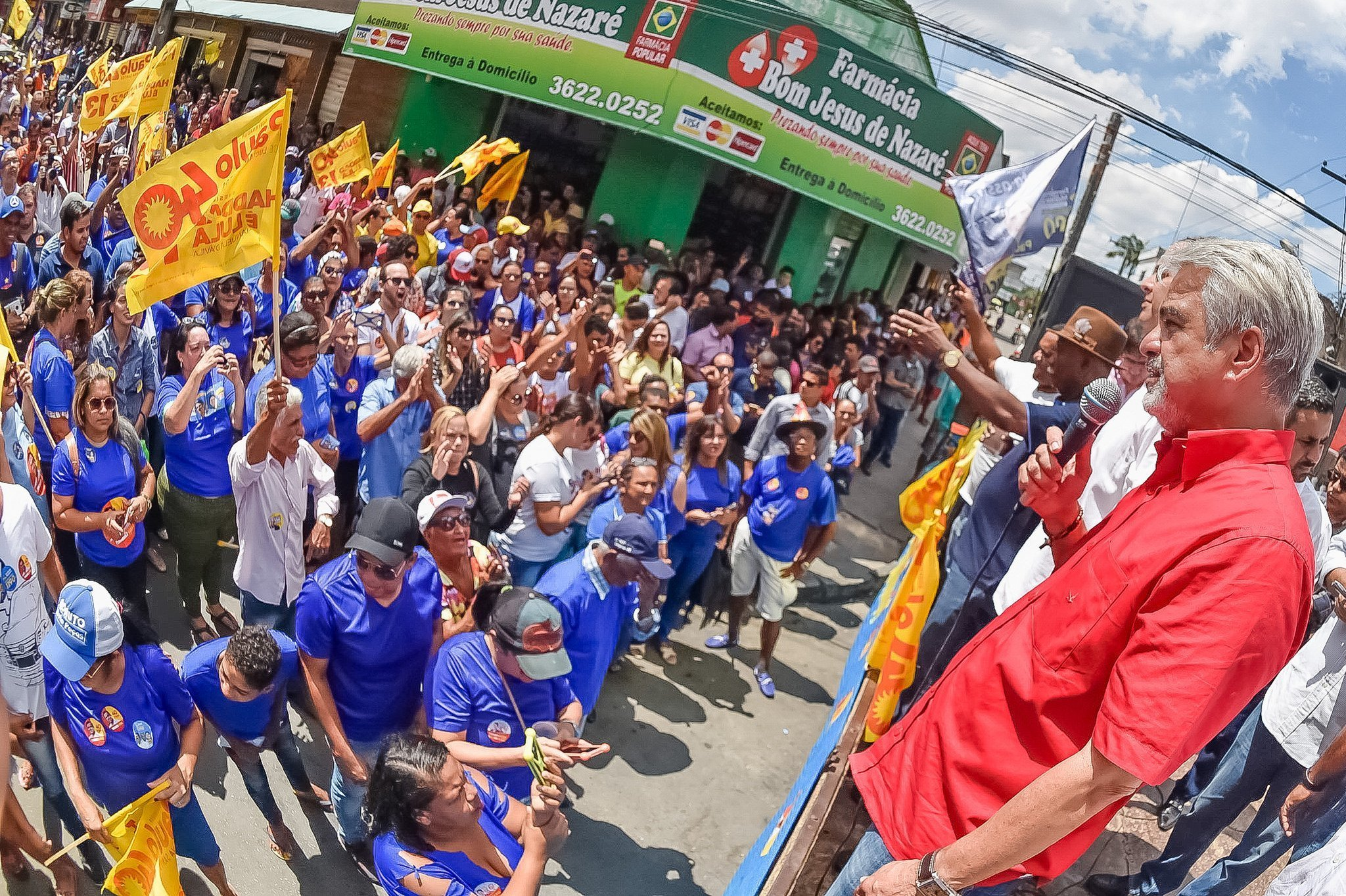 Botafogo, prefeito de Carpina, declara voto em Humberto e na chapa da Frente Popular