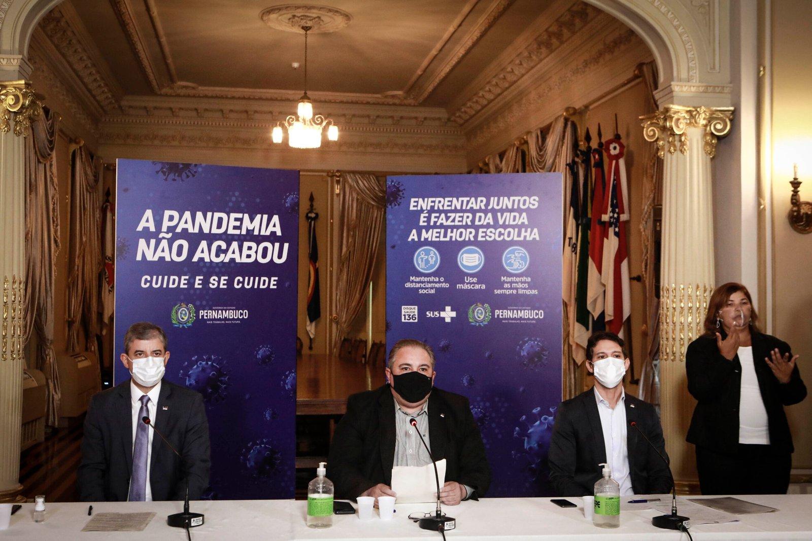 Pernambuco supera a marca de 2.400 leitos para atender à população